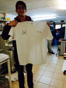 Surprise ! Cadeau de SxP Conseil, des tee-shirt gagnants ! :)